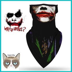 ‼️NEW‼️ The Joker Mask Gaiter Scarf w/ Ear Loops